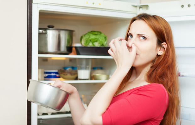 Jak usunąć nieprzyjemny zapcha z lodówki