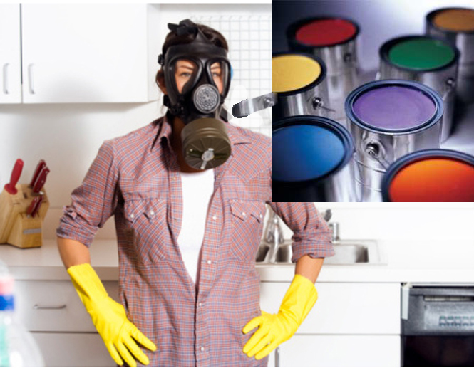 Jak usunąć zapach farby z mieszkania