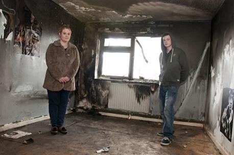 Jak usunąć zapach spalenizny z domu po pożarze